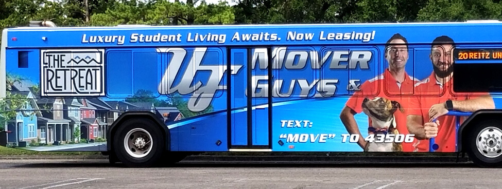 UF Mover Guys Bus
