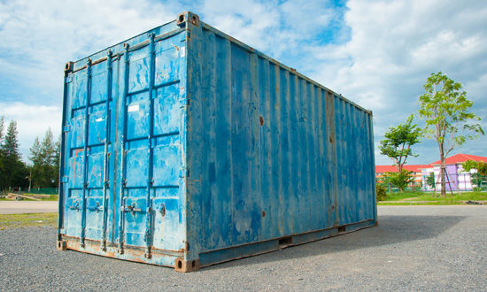 Freight Container Loading for Cross Country Moves Service
